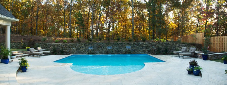 example of an oxford ms pool project - Panoramic view