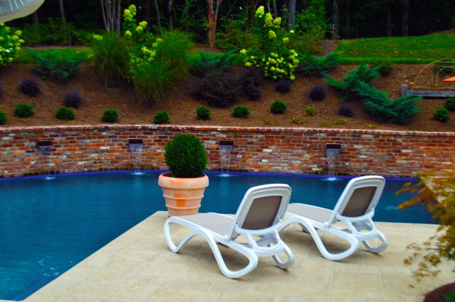 example of an oxford ms pool project - Park Drive, Oxford MS Pool - 4