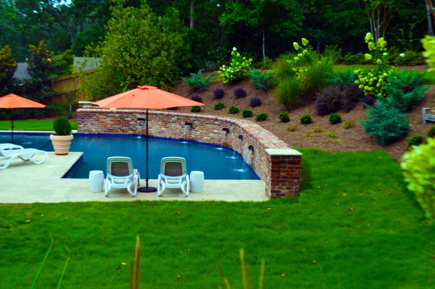 example of an oxford ms pool project - Park Drive, Oxford MS Pool - 2