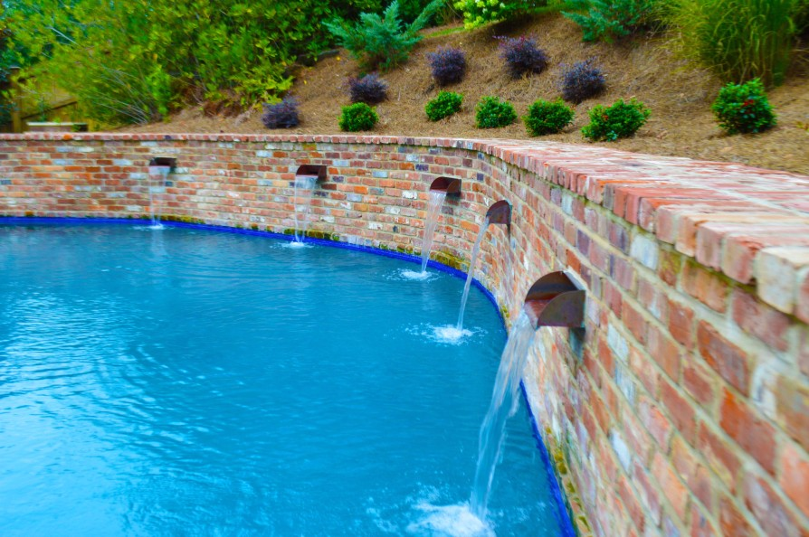 example of an oxford ms pool project - Park Drive, Oxford MS Pool - 1