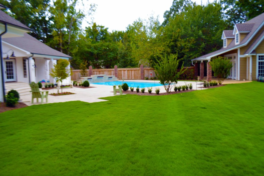 example of an oxford ms pool project - Country Club Pool, Oxford MS - 3