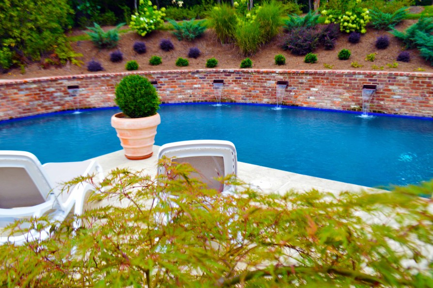example of an oxford ms pool project - Park Drive, Oxford MS Pool - 3